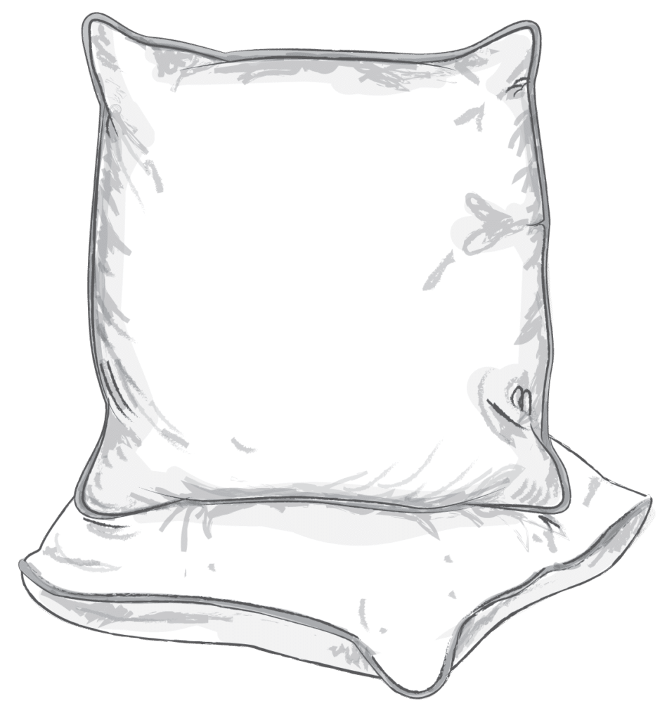 Cushion Style Piped