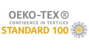 standard 100 by oeko tex logo vector